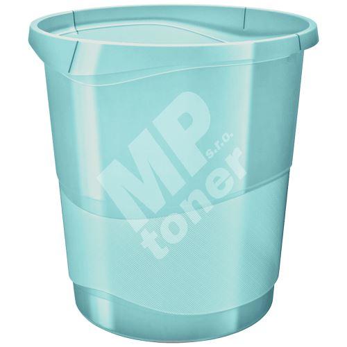 Odpadkový koš Esselte Colour Ice, průhledná modrá, 14 l 1
