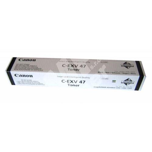 Toner Canon CEXV47, 8516B002, black, originál 1