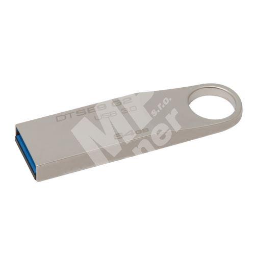 Kingston 64GB DataTraveler SE9, USB flash disk 3.0, stříbrná 1
