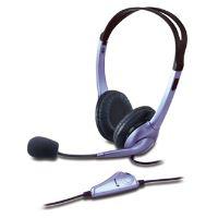 Genius HS-04S, sluchátka s mikrofonem, regulace hlasitosti