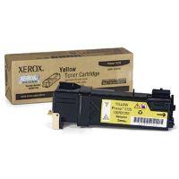 Toner Xerox Phaser 6125, žlutý, 106R01337, originál