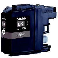 Cartridge Brother LC-123BK, black, originál 1