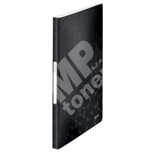 Katalogová kniha Leitz WOW, 40 kapes, černá 1