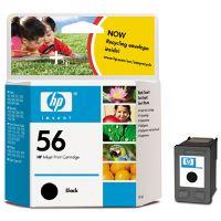 Cartridge HP C6656AE, black, No. 56, originál 2