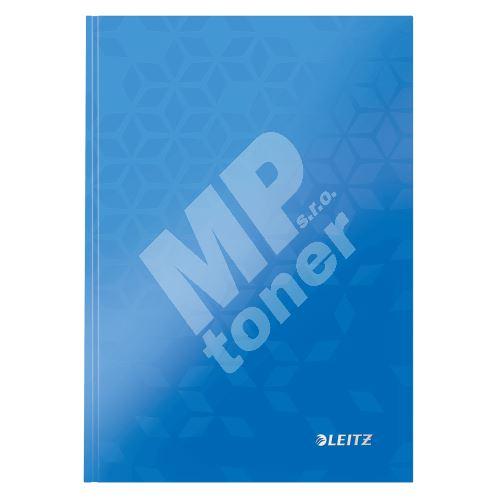Zápisník Leitz WOW A5, linkovaný, modrý 1