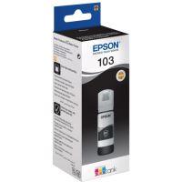Inkoustová cartridge Epson C13T00S14A, EcoTank L3151, L3150, L3111, black, 103, originál