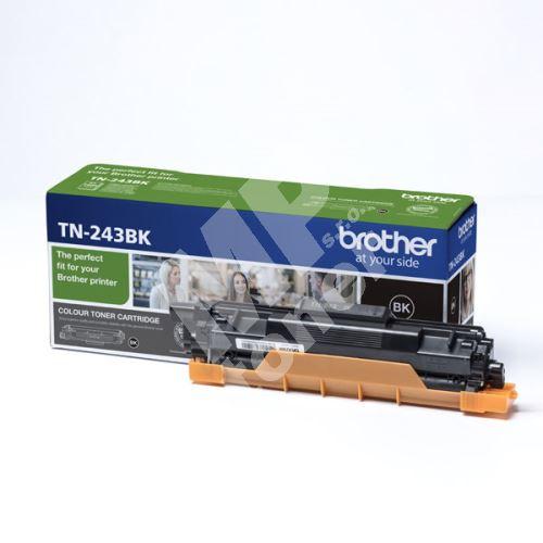 Toner Brother TN-243BK, DCP-L3500, MFC-L3730, MFC-L3740, black, originál