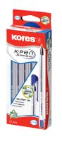Kuličkové pero Kores K11 Pen, červené