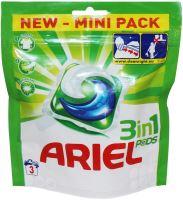 Ariel 3v1 Mountain Spring gelové kapsle na praní prádla 3 kusy