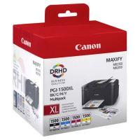 Inkoustová cartridge Canon PGI-1500XL, Maxify MB2050, MB2350, CMYK, originál