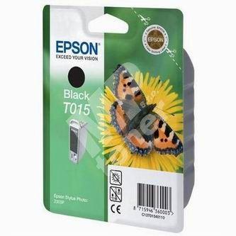 Inkoustová cartridge Epson C13T015401 černá, originál