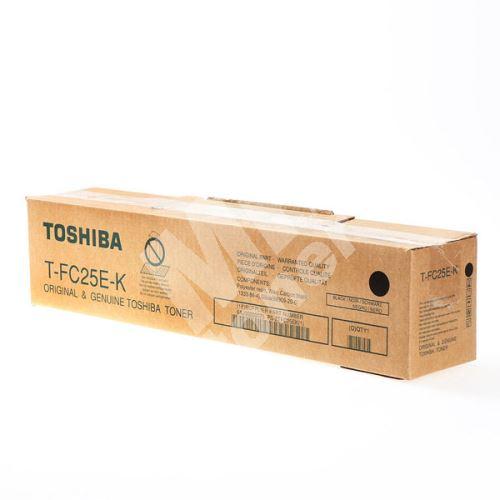 Toner Toshiba T-FC25EK, black, originál 1