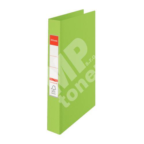 Čtyřkroužkový pořadač Esselte, 35 mm, zelený 1
