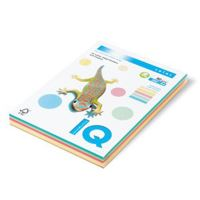 Barevný papír IQ neonový mix, A4 80g 4 barev (NEOOR, NEOGB, NEOGN, NEOPI) 1bal/200 listů