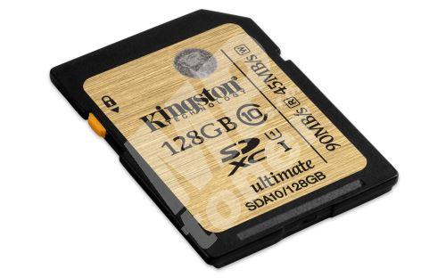 SDXC Ultimate UHS-I Kingston 128GB class 10 1