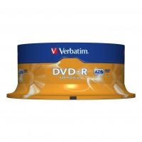 Verbatim DVD-R, DataLife PLUS, 4,7 GB, Scratch Resistant, cake box, 43522, 25-pack 2