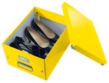 Krabice Click & Store, žlutá, lesklá, A4, LEITZ 10