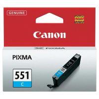 Inkoustová cartridge Canon CLI-551C, iP7250, MG5450, MG6350, cyan, 6509B001, originál