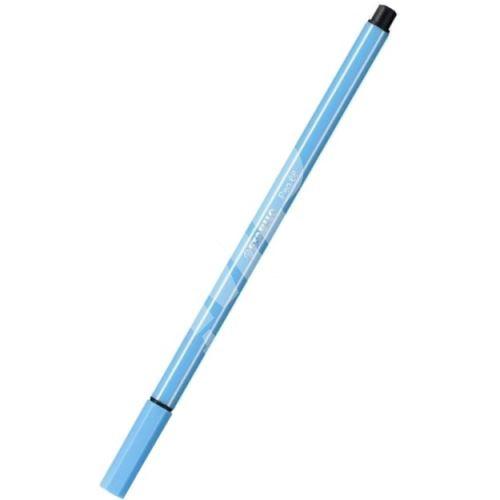 Fix, 1 mm, STABILO Pen 68, azurově modrá 1