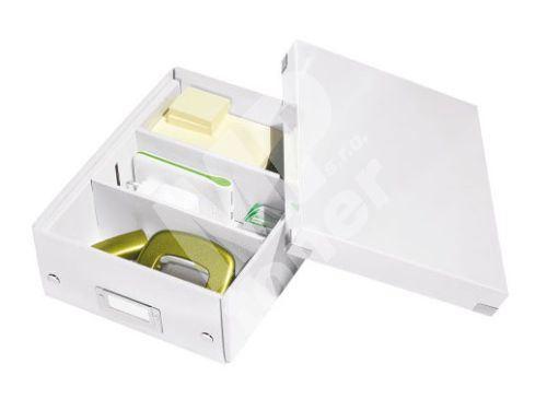 Archivační organizační box Leitz Click-N-Store S (A5), bílý 1