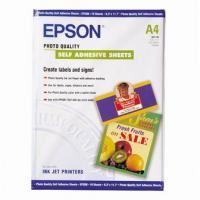 Epson Photo Quality InkJet Paper self-adhesive, foto papír, samolepicí, bílý, A4, 210x297