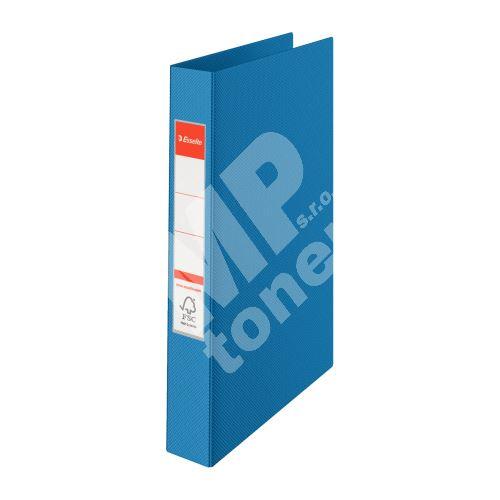 Čtyřkroužkový pořadač Esselte, 35 mm, modrý 1