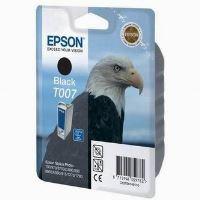 Inkoustová cartridge Epson C13T007401, Stylus Photo 870, 875D, černá, 16ml, originál