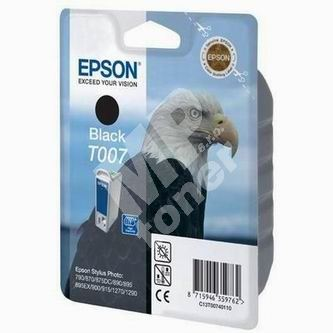 Cartridge Epson C13T007401, originál 1