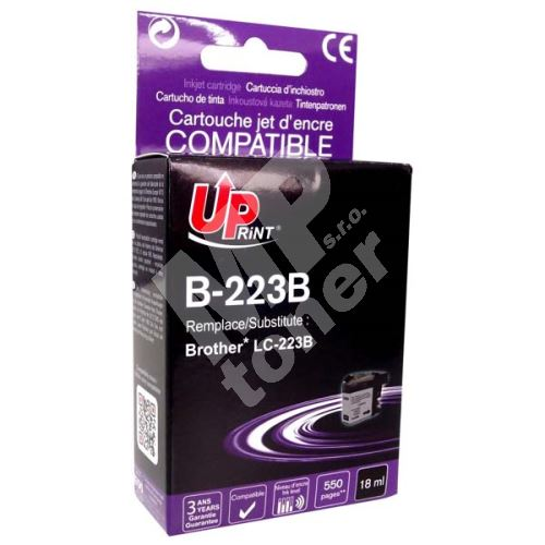 Cartridge Brother LC-223BK, black, UPrint 1