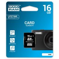 16GB Goodram Secure Digital Card, SDHC, Class 4