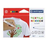 Značkovač Centropen 2739/6, Textile