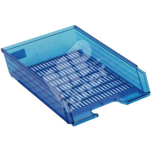 Box na papír Chemoplast průhledný, modrý 2