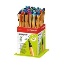Fix STABILO Greenpoint, mix barev, 0,8mm, 40ks/displej