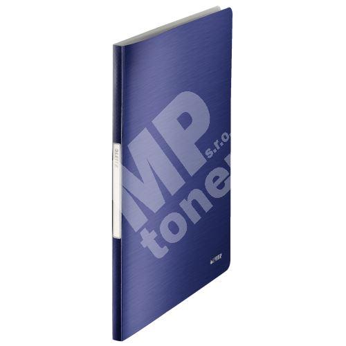 Katalogová kniha Leitz STYLE, 20 kapes, titanově modrá 1
