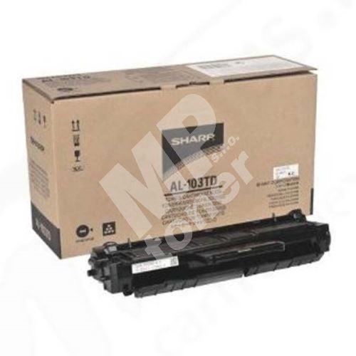 Toner Sharp AL-103TD, black, originál 1