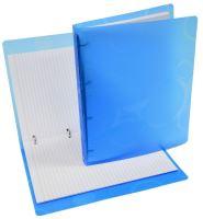 Poznámkový blok Neo Colori A4 Karisblok barevný, průhledný, modrý