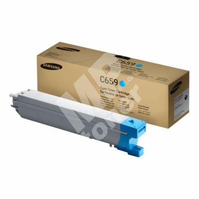 Toner Samsung CLT-C659S/ELS, cyan, SU093A, originál 1