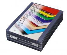 Přední fólie pro kroužkovou vazbu PRESTIGE, A4, 150 mic, čirá, 500 ks