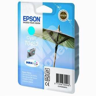 Inkoustová cartridge Epson T045240 modrá, originál