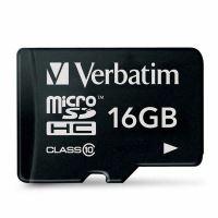 Verbatim 16GB Micro SDHC, 44010, high speed Class 10 2