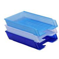 Box na papír Chemoplast poloprůhledný, světle modrý 1