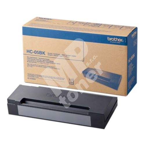 Cartridge Brother HC-05BK, black, originál 1