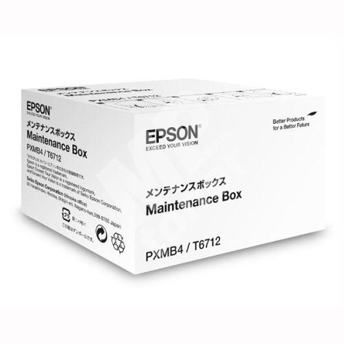 Maintenance box Epson C13T671200, WF-8590DWF, WF-8090DW, originál 1