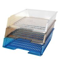 Box na papír Chemoplast průhledný, modrý 1