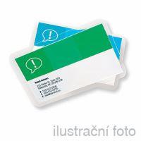 Laminovací fólie Business card 250 (2x125) mic, 60 x 91 mm, lesklé