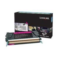 Toner Lexmark X748H3MG, X748DE, X748DTE, magenta, originál