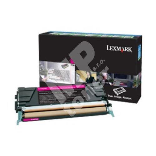 Toner Lexmark X748H3MG, magenta, originál 1