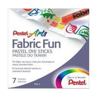 Zažehlovací voskovky na textil Pentel Arts Fabric Fun PTS-7