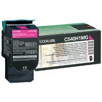 Toner Lexmark C540, X543, X544, X543, X544, magenta, 0C540H1MG, originál