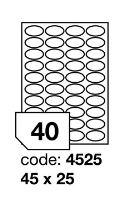 Samolepící etikety Rayfilm Office 45x25 mm 300 archů, inkjet, R0105.4525D